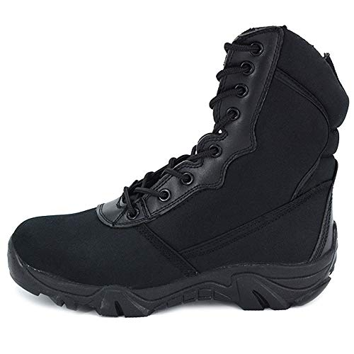 MERRYHE Camo Army Military Tactical Boots Top Top Combat Boot Oxford Tela...