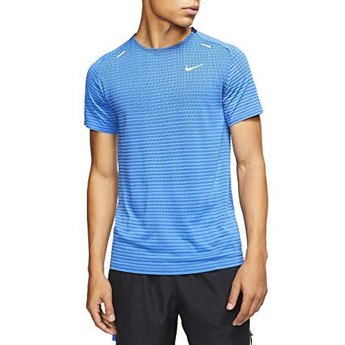 Nike TechKnit Ultra - Camiseta de running para hombre -  Azul -  XX-Large