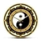 Reloj de Pared Símbolo de Yin Yang Reloj de Pared Moderno Filosofía China Amuleto...