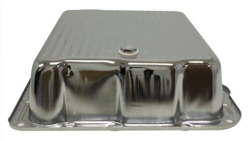 Chevy/GM 700R4-4L60E-4L65E Steel Transmission Pan (Deep Sump) - Chrome