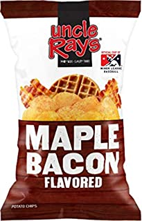 Uncle Ray's Maple Bacon Potato Chips - 3 oz. Bag - 12 Pack
