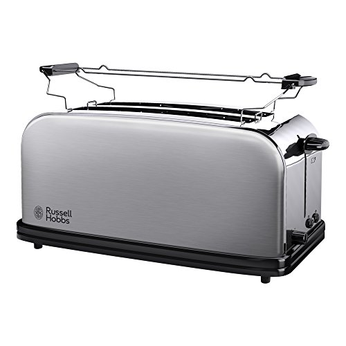 Acier Brillant 1670 W Russell Hobbs Toaster Chester Classic 23311-56