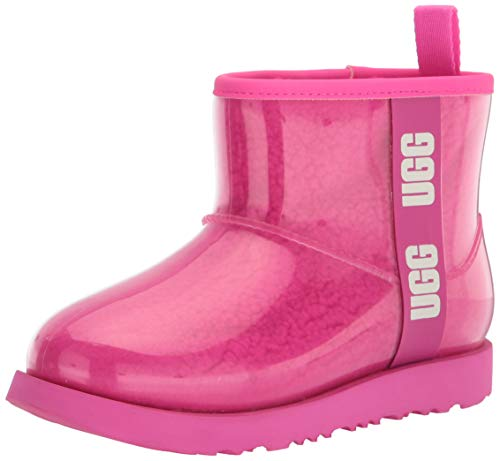 UGG Kids' Classic Clear Mini Ii Boot, Rock Rose, Size 4