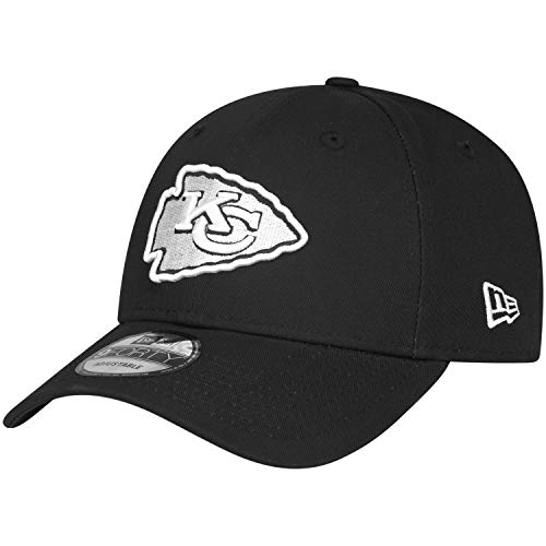 New Era 9Forty Adjustable NFL Cap - Black Kansas City Chiefs