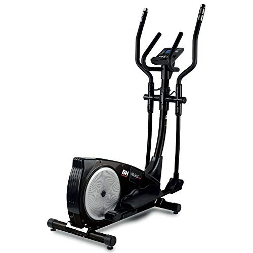 PROACTION BH i.NLS12 Dual Black Magnetic Crosstrainer. 11,81 inches Stride. 10 Kg Flywheel. Ideal for Indoor Sport beginners