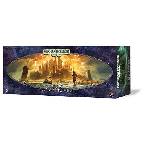 Fantasy Flight Games- Arkham Horror LCG - Retorno al Camino de Carcosa,...
