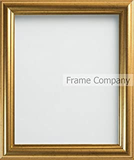Frame Company Eldridge Range 1-Piece 12 x 10-inch Picture Photo Frames, Gold