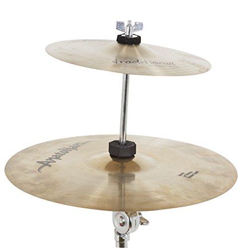 Db Percussion DB0617 - Soporte plato apilable, color cromado