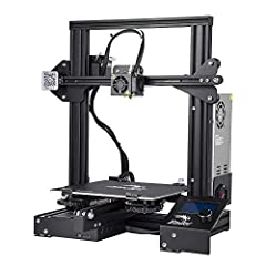 Resume Print Function: Ender 3 has the ability to resume printing even after a power outage or lapse occurs. Easy and Qucik Assembly: It comes with several assembled parts, you only need about 2 hours to assemble 20 nuts well. Advanced Extruder Techn...