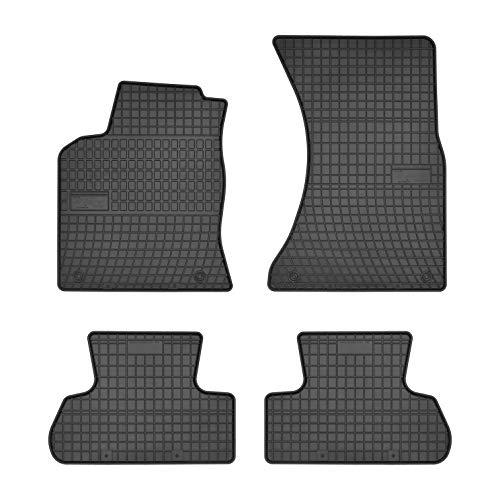 DBS Tapis de Voiture - sur Mesure pour Q5 (2008-2016) - 4 pièces - Tapis de Sol antidérapant pour Automobile - Souple - 100% Caoutchouc