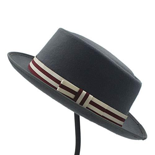 Sombrero para el sol Sombrero plano de Homburg Fedpra de las mujeres...