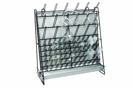 Heathrow Scientific HD23243A - Supporto per asciugatura attrezzatura da laboratorio, in filo in acciaio, 462 x 182 x 525 mm