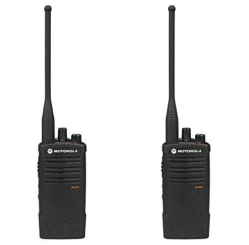 Motorola RDU4100 12.5kHz 4 Watt 10-Channel Business Two-Way Radio 2-Pack Bundle