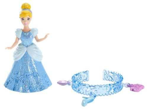 Disney X7491 - Juego de Pulsera de Princesas con diseño de Cenicienta