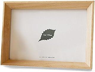 オークヴィレッジ フォトフレーム カードサイズ ナチュラル サイズ:幅16.4×奥行2.1×高さ12.1cm 03220-10