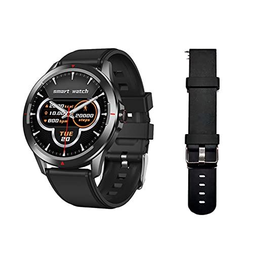 Relojes deportivos for hombres SmartWatch con monitor de frecuencia cardíaca de presión arterial de oxígeno en la sangre y reloj de fitness a prueba de agua profundo for IOS Androide ( Color : C )