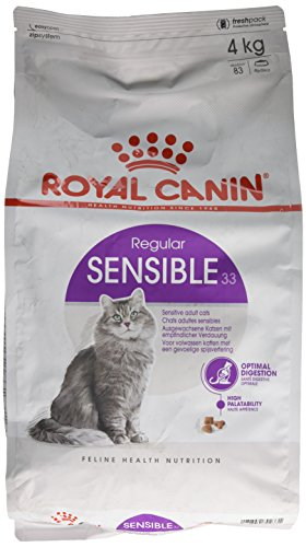 ROYAL CANIN Sensible 33 Secco Gatto kg. 4 - Mangimi Secchi per Gatti Crocchette