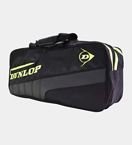 Dunlop Sports Elite Tournament Thermal, Black/Yellow, 6-Racket