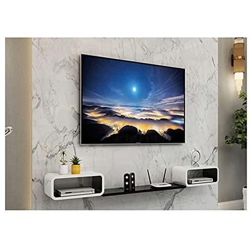 GEREP Mueble TV Colgante Mueble TV Flotante, Mueble de TV de Pared...