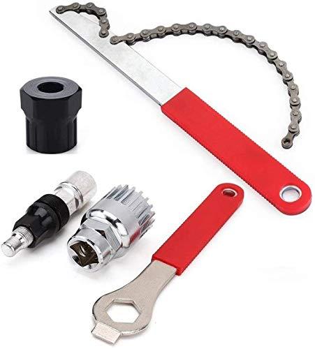 Aeromdale Kit de herramientas de reparación de manivela para bicicleta, extractor de manivela de rueda libre, bicicleta de bicicleta
