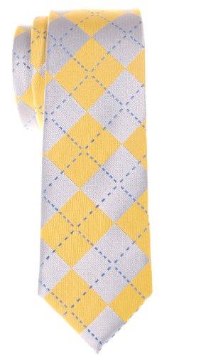 Retreez - Cravate - Homme - Jaune - Taille Unique