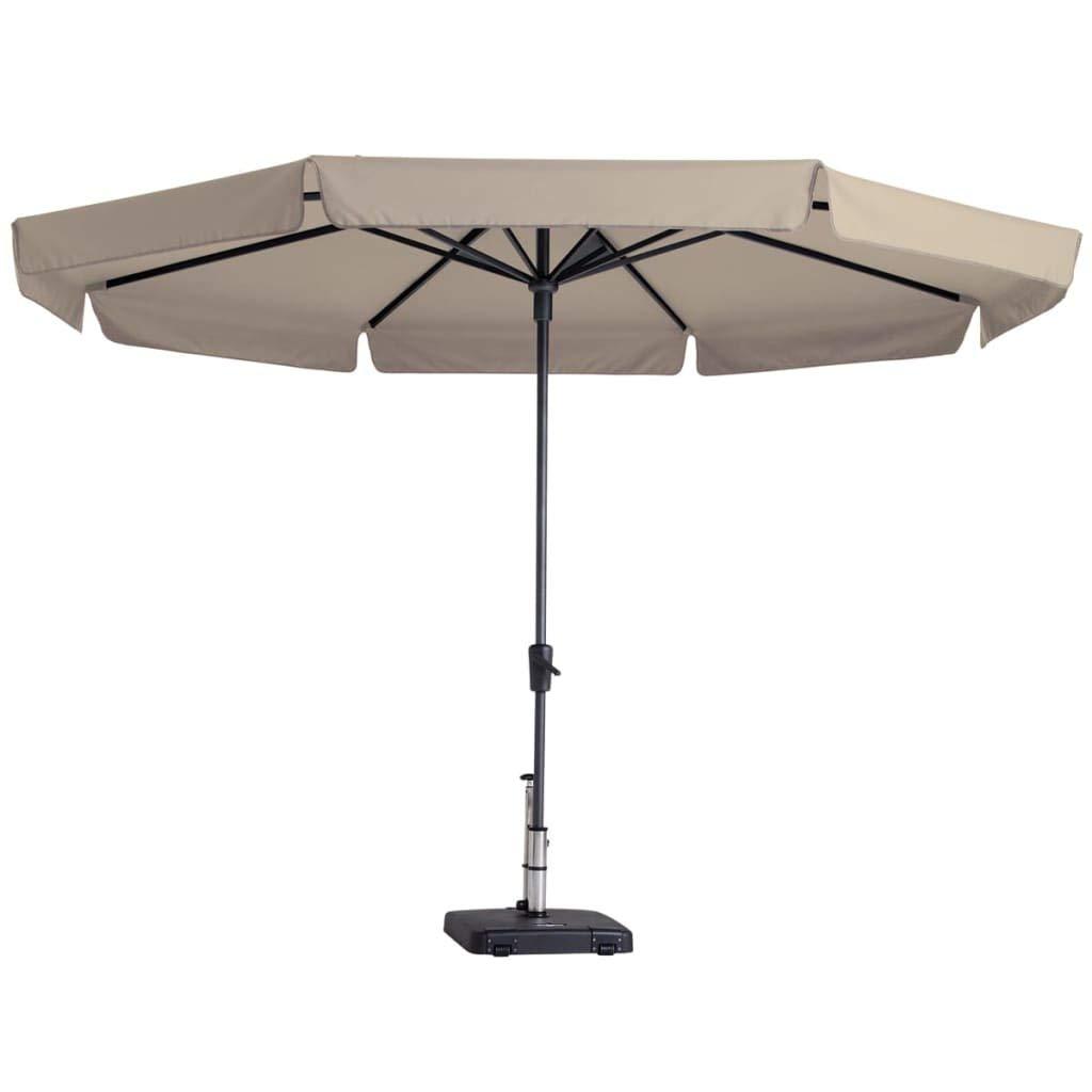 Madison sombrilla Parasol de Exterior jardín Playa Syros 350 cm Crudo pac6p016: Amazon.es: Hogar