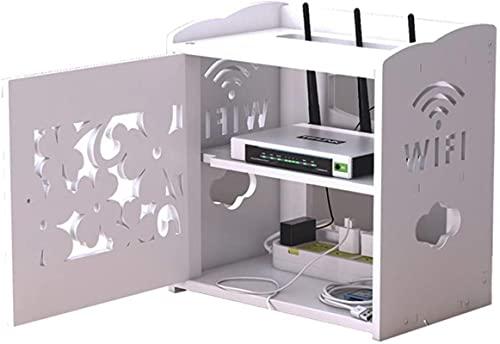 Router Förvaringsbox Box WiFi Router Fäste Set-top Hylla Fäste För TV Tillbehör WiFi Router TV Box Set Top Box (Co