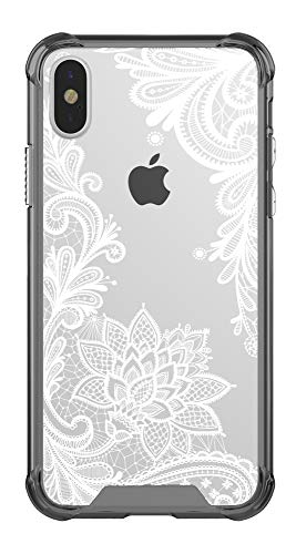 Case for iPhone Xs,Case for iPhone X,CASY MALL Hybrid PC+TPU Bumper Slim Hard Case for Apple iPhone Xs 2018, iPhone X 2017 5.8 Inch Crystal
