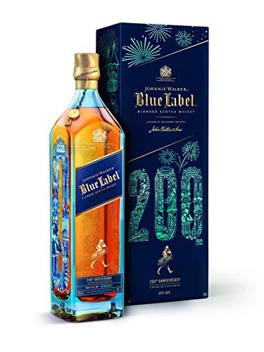 Johnnie Walker Blue Label, limitierte Auflage zum 200-jährigen Jubiläum, Blended Scotch Whisky, 70cl im Geschenkkarton