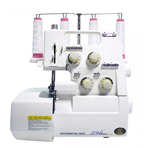 TOYOTA SL3487 – Máquina de coser remalladora con funcionamiento eléctrico