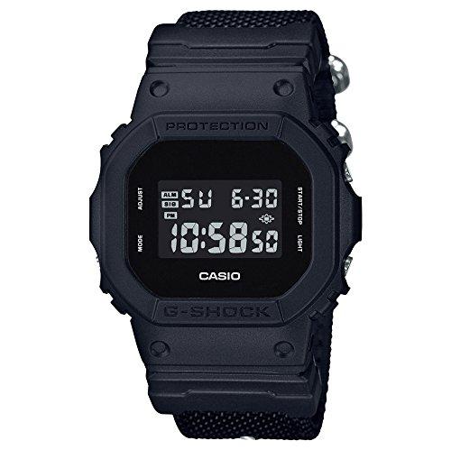 Casio G-Shock By Men's DW5600BBN-1 Digital Watch Black