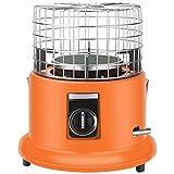YSDQ Estufa de Queroseno Calentador, Acero Inoxidable Ligero Porttil Quemador de Vidrio del Calentador de Aceite, Calentador de Espacio Compacto, para Acampar en Interiores al Aire Libre