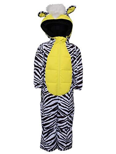 WeeDo Zeedo Zebra Schneeanzug Kinder Zebra White Kindergröße 128-140 2020