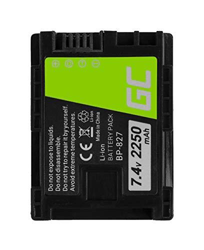 Green Cell BP-808 BP-807 BP-828 Batería para Canon HF G10 M30 M31 M32 M36 M41 S10 M300...