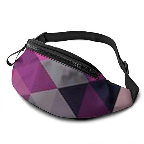XCNGG Bolso de la cintura del ocio bolso que acampa bolso del montañismo Floating Feathers Fanny Packs for Women and Men Waist Bag Adjustable Belt for Outdoors Workout, Traveling,Casual Running,Hiking