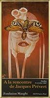 ポスター ジャック プレヴェール Papillon 1987 額装品 アルミ製ベーシックフレーム(ゴールド)