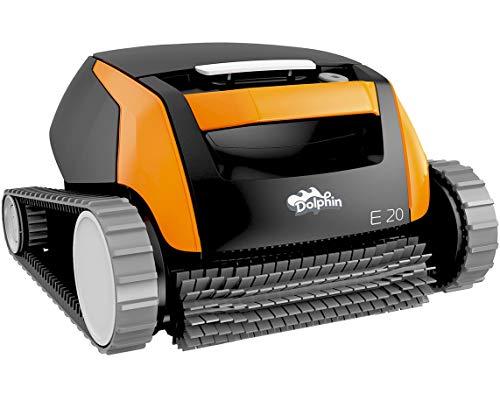 Dolphin E20 - Elektrischer Reinigungsroboter, Poolroboter mit PVC Bürste, Pool Roboter für alle Poolformen