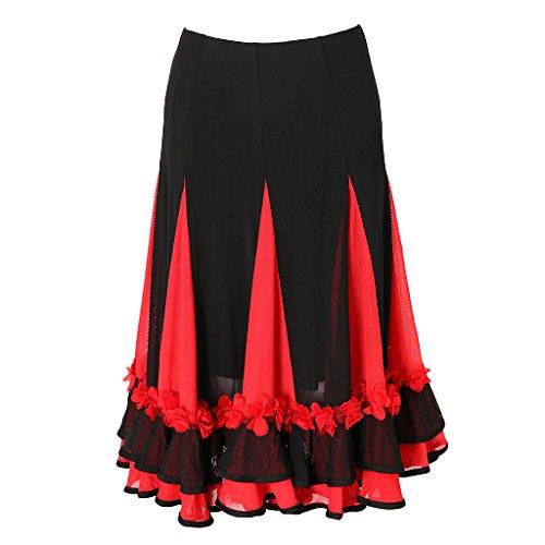 non-brand Sharplace Falda Baile de Salón Vestido Fiesta Traje Práctica poliéster Accesorios de Chica Vestuario