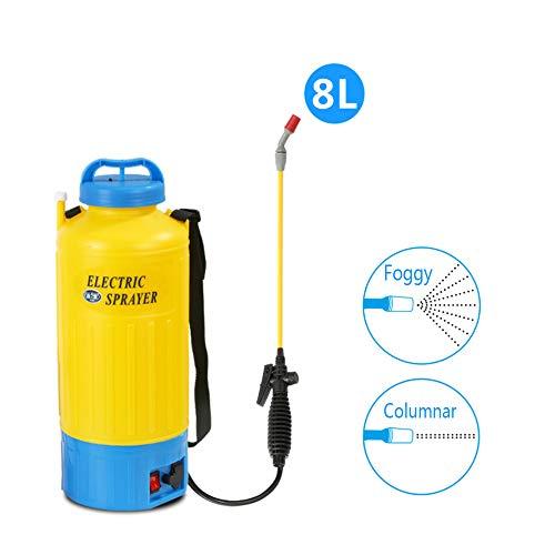 2 Gallon 8L Lawn And Garden Drukspuit Met Schouderband, Portable Handmatige Acties Vehicle Pomp Drukspuit Voor Huis En Tuin