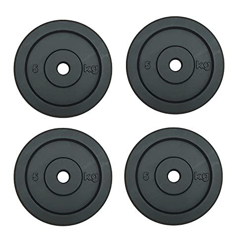 Dischi in Ghisa per Sollevamento Pesi da kg.5 Foro mm.25-4 Piastre da 5 kg