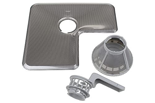 SETSieb Filter fein + grob mit Griff Spülmaschine Miele 9632790