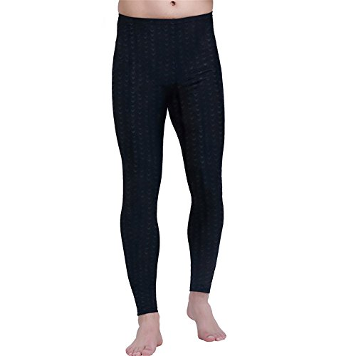 SANANG Herren Rash Guard Tight Pant Leggings Anti-UV Schwimmen Surfen Hosen Quick Dry Fitness (XXL)