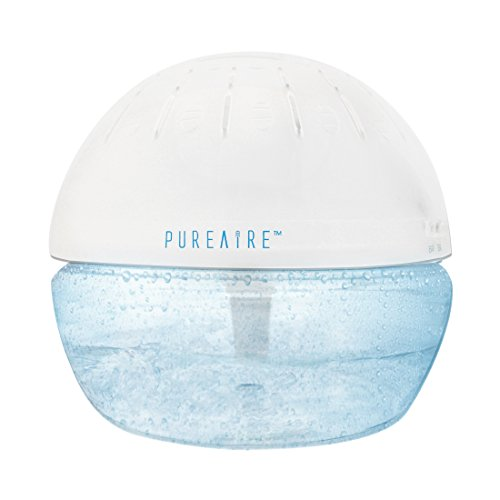 PureAire Basic Air Purifier Ioniser with Relaxing LED Light - Great for Hayfever, Allergies, Odours, Cooking Smells and Pets
