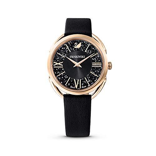 Swarovski Damen-Uhren Analog Quarz One Size Leder 87631745