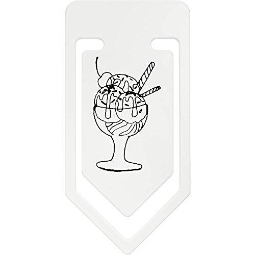 Azeeda 141mm 'Eisbecher' Riesige Plastik Büroklammer (CC00032592)