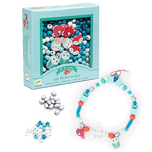 Djeco DJ09807 Für ältere Kinder – Perlen und Schmuck, gemischt