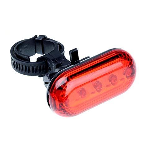 Luz de alerta La cola de la bicicleta LED de luz posterior de la bici roja de advertencia de luz de destellos de las luces traseras de bicicletas a prueba de agua lámparas de flash de la antorcha 3 Mo
