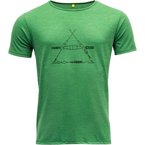 Devold Herren Vasset T-Shirt, Clover, L