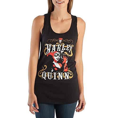 41ILLn0csmL Harley Quinn Tank Tops for Women