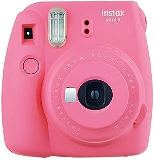 Fujifilm Instax Mini 9–Cámara instantánea, Color Color Rosa Flamenco (Renewed)
